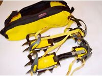 Grivel G12 crampons plus Alaska carry bag