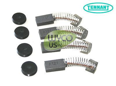 Tennant 222625 Electric Motor Brush Kit 4 Vr Tennant 5680 5700 Ez Rider