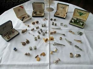 Beautiful Collection of Cuff Links - Tie Clips, Etc. Kitchener / Waterloo Kitchener Area image 1