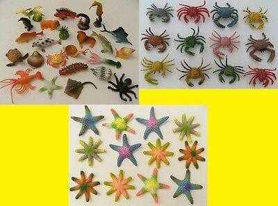 Wassertiere Krabbe Seestern Spieltiere Spielzeug Krebs Krebse Meer Tiere Tier