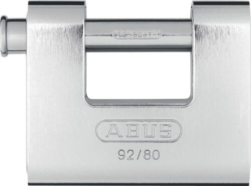 ABUS 92/80 Monoblock padlock - Protected Shackle - Keyed Alike