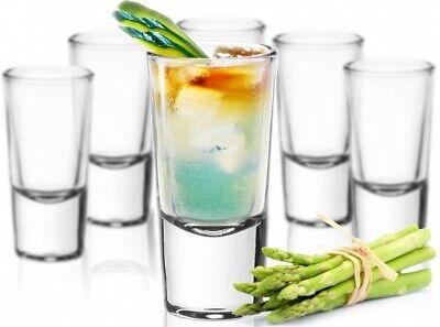 24 Schnapsgläser Tequilagläser Gläser Schnapsglas Stamper Shots Wodkagläser Klar