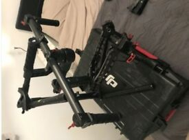 DJI Ronin 3-Axis Brushless Gimbal Stabiliser+case + accessories + Extension Arms + 1 Battery