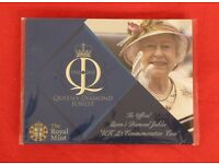 2012 Queen's Diamond Jubilee UK £5 coin. FREE postage to UK mainland addresses.