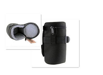 Etui housse de protection imperméable Safrotto E20 7x16,5cm (Ex: Canon 28-135)