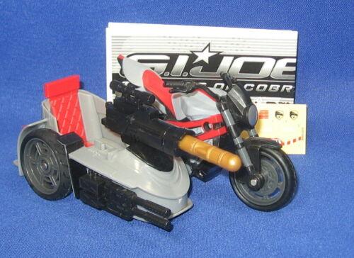 GI Joe Snarler Motor Cycle Vehicle 2009 Loose Complete 25th Rise of Cobra ROC