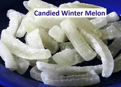12oz Melon Candy Candied Winter Melon aka Tung Kua 冬瓜糖 Preserved Melon US Seller