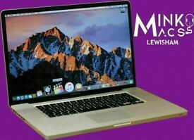 Apple Macbook Pro 17' Quad Core i7 2.3GHz 8GB Ram 500GB Logic Pro Final Cut Pro Adobe Suite Warranty