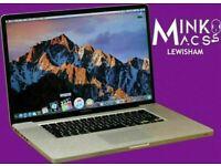 Apple Macbook Pro 17' Quad Core i7 2.5GHz 8GB Ram 320GB Logic Pro Final Cut Pro Adobe Suite Warranty