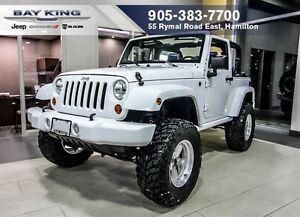 2013 Jeep Wrangler SPORT, 35 BAJA CLAW TIRES, COBALT BLUE INTERI