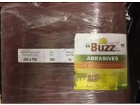 250x750 Bona Floor sander Belt by BUZZ Abrazives ,grit p100 new belts ,Total of ten belts
