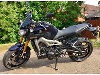 Yamaha MT - 09 ABS 2015
