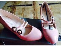 PVC Block Shoes- New