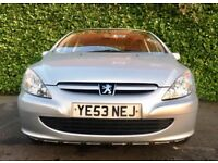 1 OWNER ONLY 85000 MILES 2004 PEUGEOT 307 SPORT 1.6 5 DOOR 11 MONTHS GOOD DRIVE