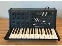 Korg MS-10 semi-modular Classic analogue synth 1970's