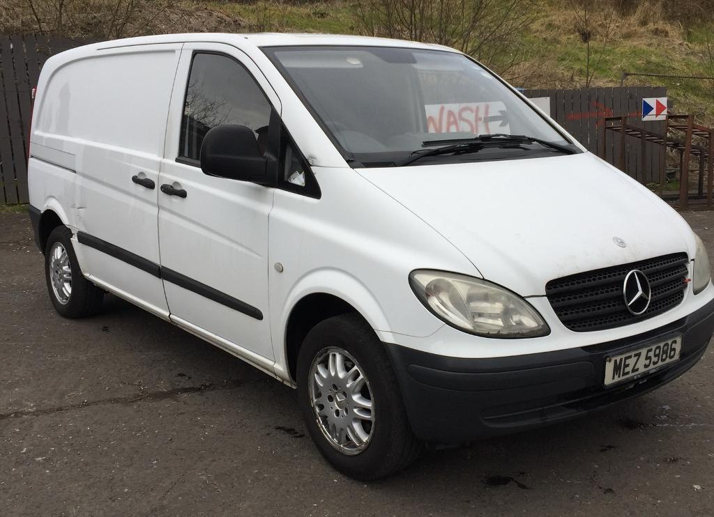 2006 MERCEDES VITO 109 NOW SOLD | in Lisburn, County Antrim | Gumtree