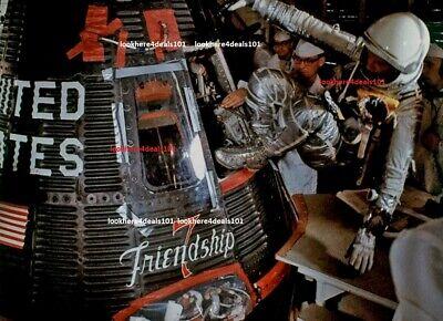 JOHN GLENN Photo 4x6 Friendship 7 NASA Mercury Spacecraft Memorabilia