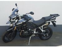 Triumph Tiger Explorer 1215 with many extras.