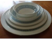 Dinner Service for 12 - Royal Doulton Counterpoint H5025 - Excellent condition