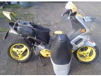 Peugeot Speedfight 2 (for spares as INCOMPLETE).