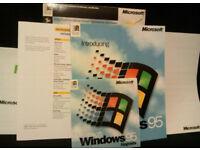 Microsoft Windows 95 Upgrade Big Box