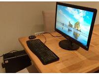 High spec Windows 10 Computer - better value than laptop + large screen