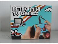 Thumbs Up Retro Mini TV Controller with 200 games