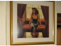Framed Picture 'Let Me Into Your Heart' by Raymond Leech
