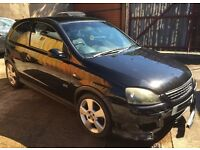 Vauxhall Corsa C 1.8 SRi 2004 Black Spare Parts Breaking For Spares