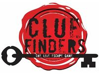 Game Host Wanted - CLUE FINDERS LIVERPOOLS NUMBER ONE LIVE ESCAPE GAME - Part time/Full time
