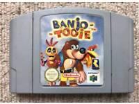 Banjo tooie for the Nintendo 64