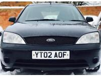 2002 (MAR02) FORD MONDEO 2.0 TDCI - DIESEL - LOW MILES - 5 DOORS - MANUAL - BLACK