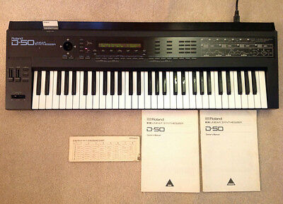 Roland D-50 Linear Synthesizer Synth Keyboard on Rummage