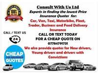 Insurance for cars vans