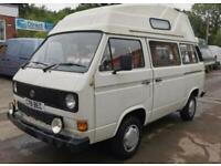 Vw t25 factory camper 1986 - 12 months mot
