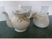 Teapots - 1 Chatsford PG Tips & 1 Staffordshire fine bone china