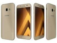 Gold Samsung a3 2017