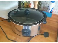 Breville VTP093 Stainless Steel 5.5 L Slow Cooker