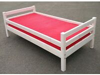FREE delivery/Flexa kids/adult wooden single bed with mattress