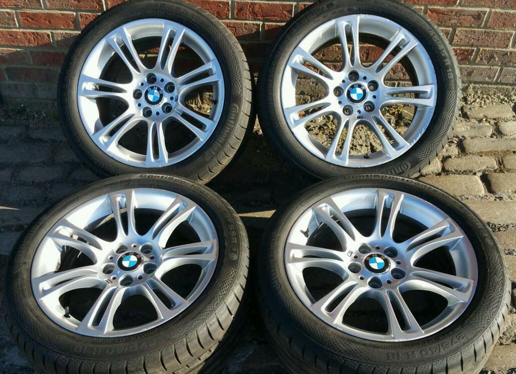 18 Quot Bmw 5 Series Alloys M Sport F10 F11 Wheels Amp Tyres
