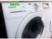 REDUCED!! - HOOVER - White , 9+6kg , 1600 WASHER DRYER + 3 Months Guarantee + FREE LOCAL DELIVERY