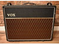 Vox AC30 6/TBX, 2003 UK reissue with Alnico Blues, NOS Mullard tubes