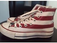 CONVERSE ALL STAR TRAINERS/BOOTS SIZE 5