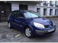 2006 RENAULT MEGANE SCENIC DYMANIQUE 1.5 DCI 5 DOOR MPV 12 MONTHS MOT SERVICE HISTORY ONLY £495