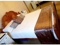 Soild Pine King Size Bed Frame
