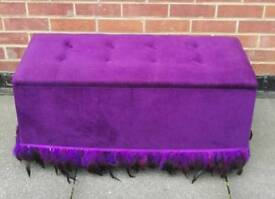 Ottoman gorgeous excellent storage great condition can deliver