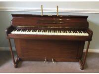 Kemble Minx Mini Piano - Mahogany Upright