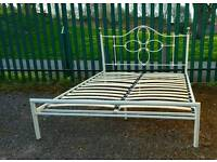 Nice and Sturdy King Size Bed Frame (delivery available)