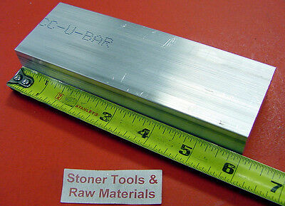 1 X 2 Aluminum 6061 Flat Bar 6 Long T6511 1.00 X 2.0 Solid Plate Mill Stock