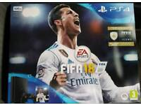 Ps4 slim 500gb fifa 18 bundle now £200!